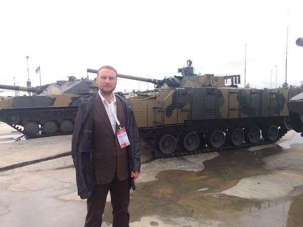 Андрей Скрынник возглавил делегацию Крыма на Международном военно-техническом форуме «АРМИЯ-2015»