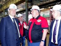 Андрей Васюта принял участие в посещении предприятий ОПК Республики Крым